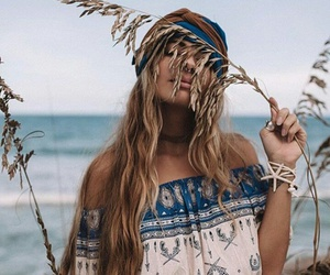 hippie, summer, and boho image