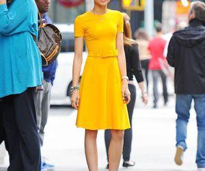 fashion, zendaya, and dress image