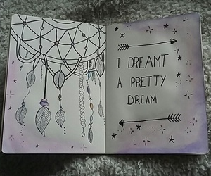 dessin, doodle, and Dream image