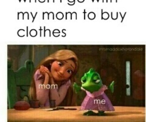 funny, mom, and clothes image