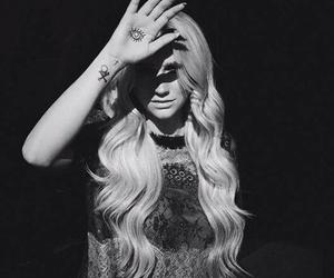 kesha, black and white, and ke$ha image