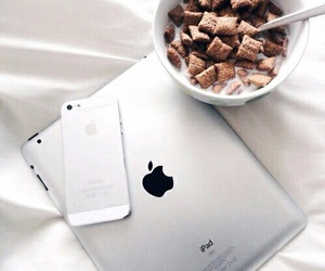 apple, food, and iphone image