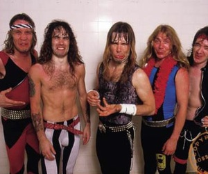 Bruce Dickinson, Dave Murray, and iron maiden image