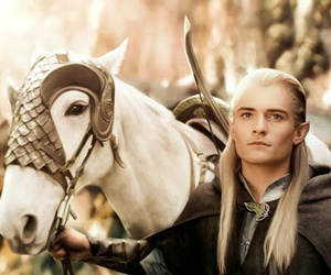 LOTR, Legolas, and lord of the rings image
