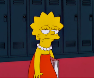 school, simpsons, and the simpsons image