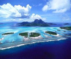 nature, sea, and Island image
