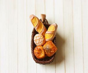 baguette, bakery, and basket image