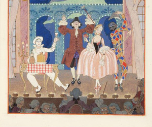 columbine, orchestra, and rococo image