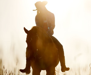 horse and Cowgirl image