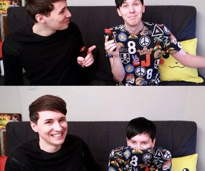 dan, OMG, and phil image