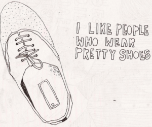shoes and text image