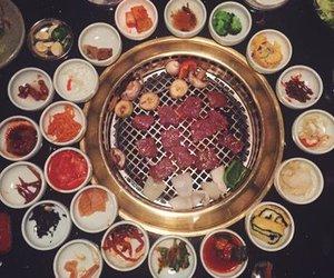 bbq, food, and korean image