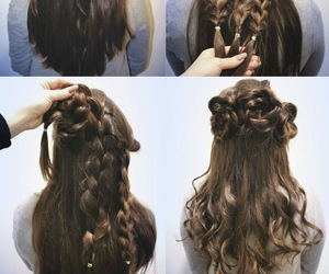 diy, longhair, and hair image