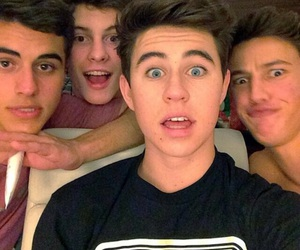 nash grier, cameron dallas, and shawn mendes image