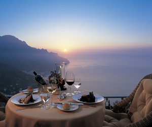 dinner, romantic, and luxury image