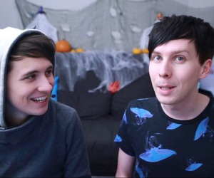 amazingphil, danisnotonfire, and phan image