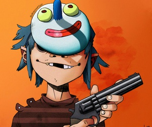 2d, gorillaz, and stu pot image