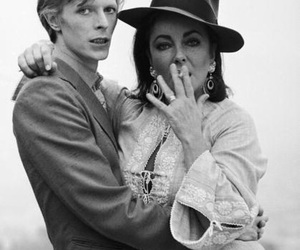 david bowie, Elizabeth Taylor, and bowie image