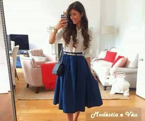 aesthetic, modest, and style image