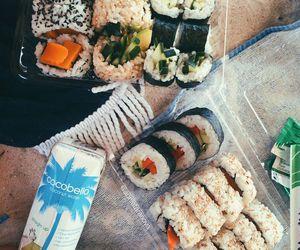girl, healthy food, and food image
