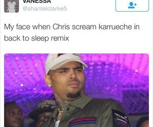 chris brown and back to sleep image