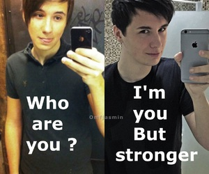 dan, amazingphil, and danisnotonfire image