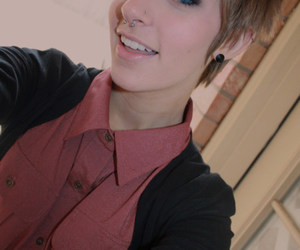 androgynous, sexy, and cute image