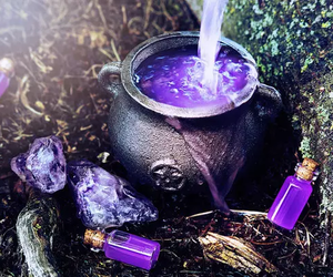 witch, magic, and witchcraft image
