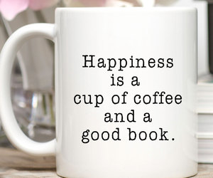 books, coffee, and etsy image