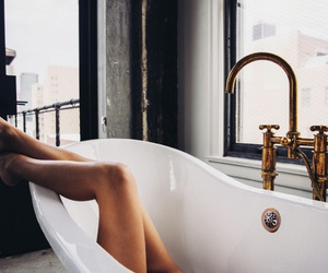 bath, home, and relax image