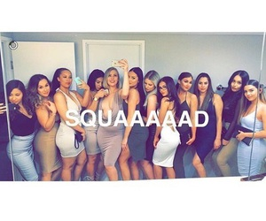 squad and friends image