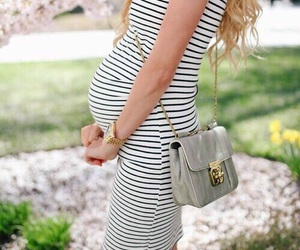 baby, pregnant, and fashion image