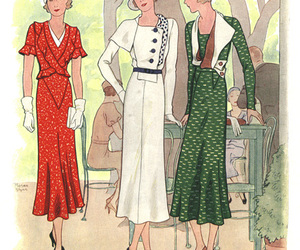 fashion and 1930s fashion image