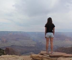 girl, grand canyon, and summer image
