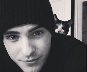 cody christian, cat, and teen wolf image