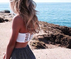 beach, goals, and tumblr image