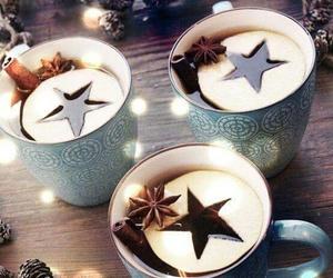 winter, christmas, and stars image