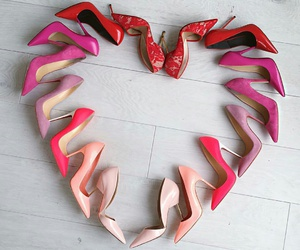 shoes, heart, and beauty image