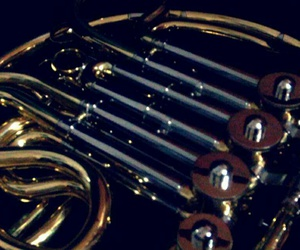 beauty, french horn, and love image