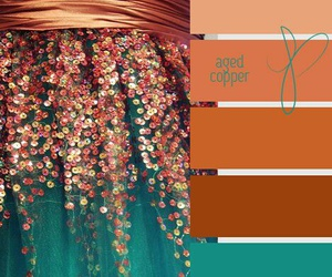 color, turquoise, and dresse image