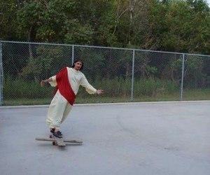 jesus, funny, and skate image