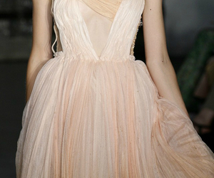 dreamy and peachy image