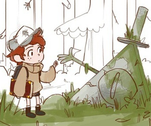 gravity falls and dipper pines image