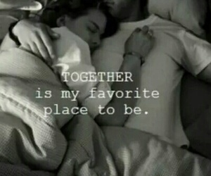 bed, together, and favourite image