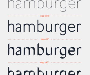 design, typography, and egg font image