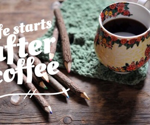 wood, coffe, and font image