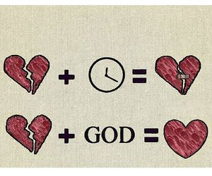 god and heart image