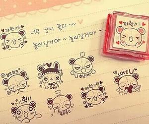cute, kawaii, and korean image