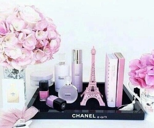 pink, chanel, and beauty image