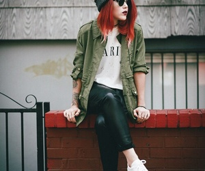 fashion, red hair, and luanna perez image